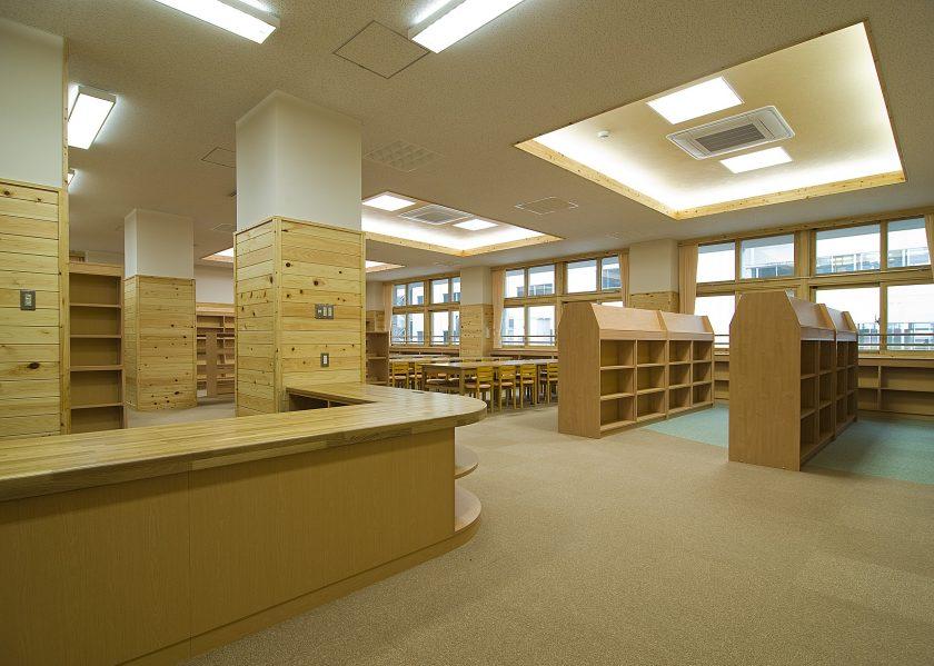 揖斐川中学校北舎‐2