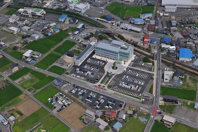 防災センター兼揖斐川町庁舎‐5