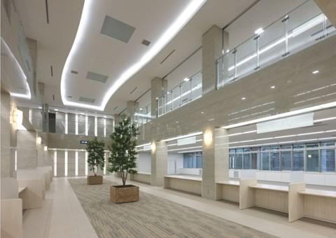 防災センター兼揖斐川町庁舎‐3