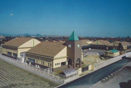 墨俣町保育園増・児童館-1