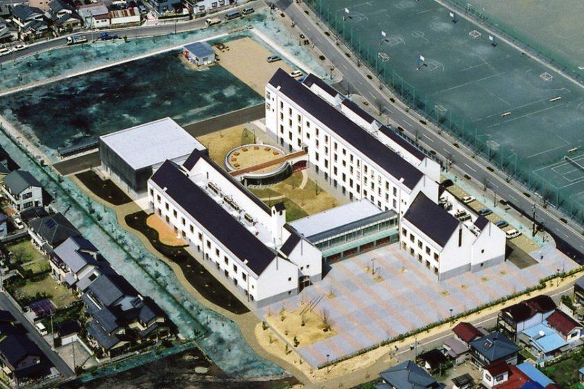 中部学院大学・短期大学部 各務原キャンパス‐3