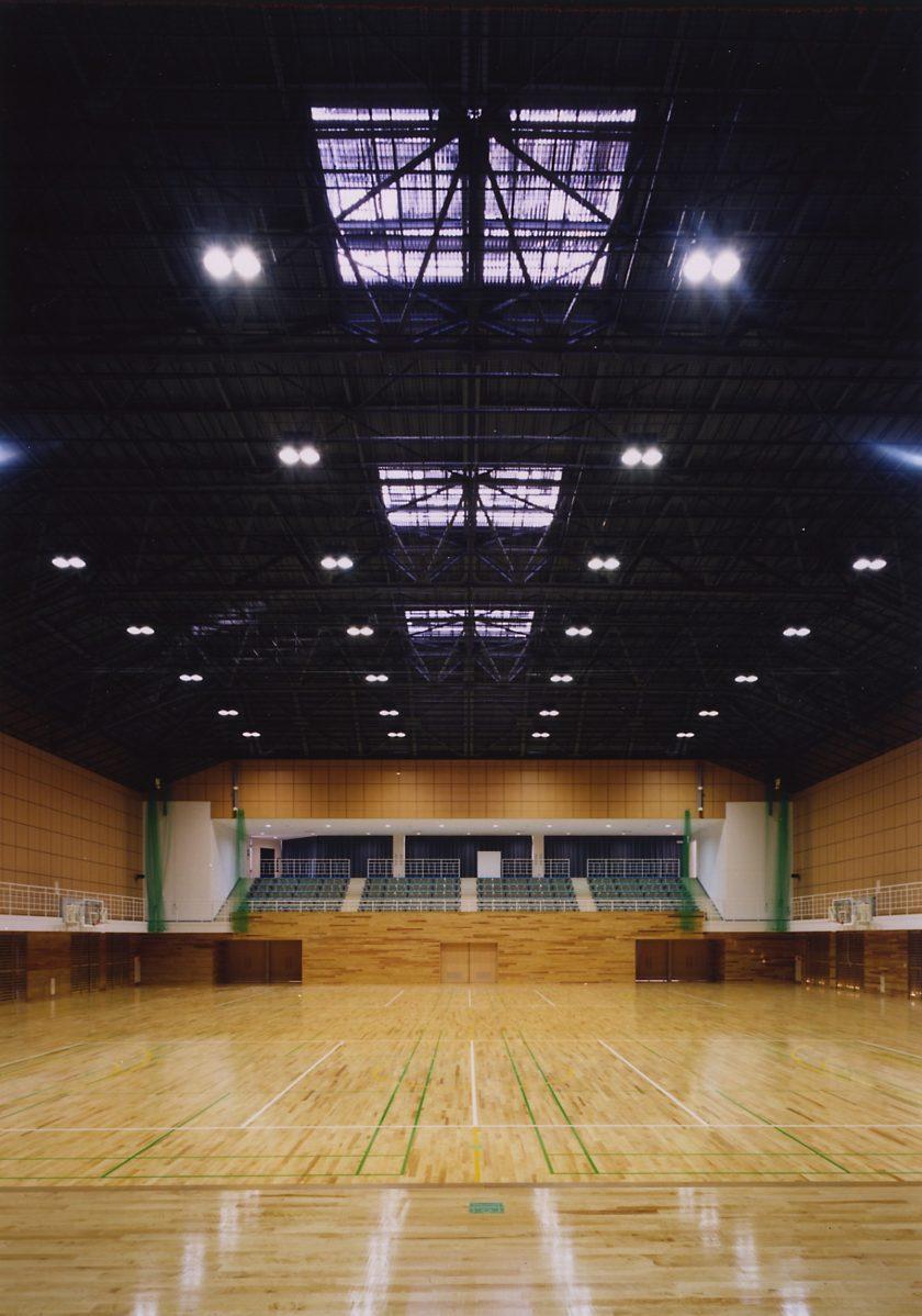 清翔高等学校体育館・プール‐3