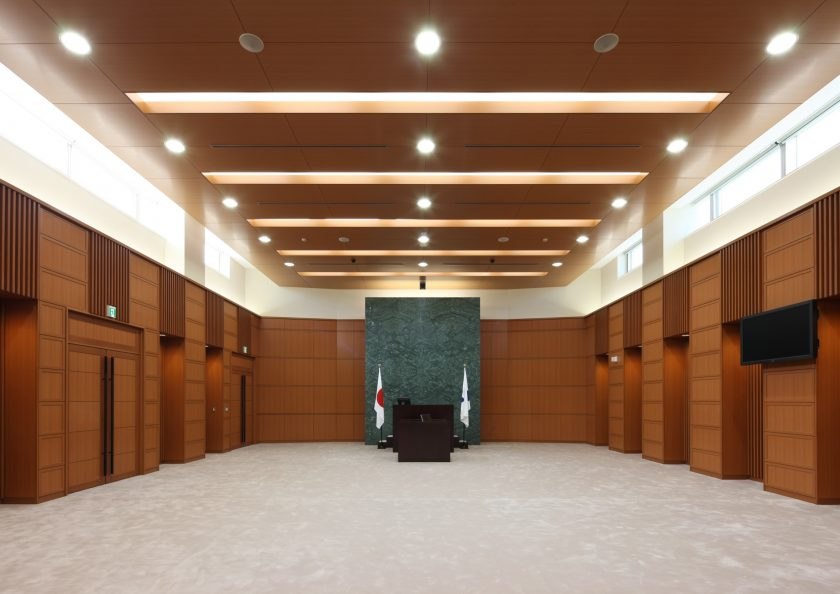 防災センター兼揖斐川町庁舎‐4