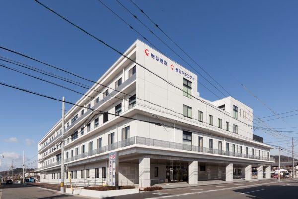 岩砂病院・岩砂マタニティ‐外観1