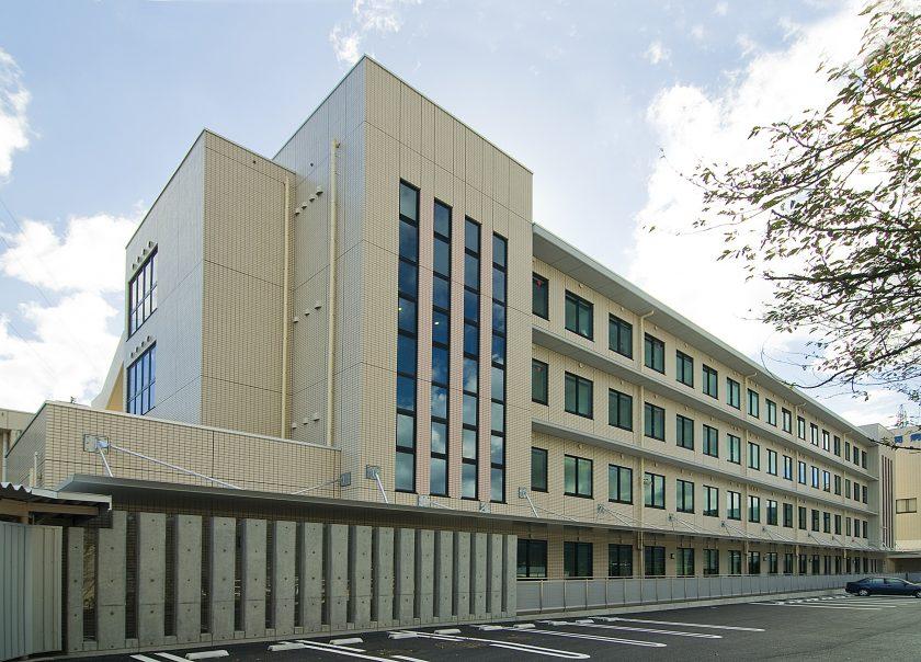不破の関病院 病棟‐外観2