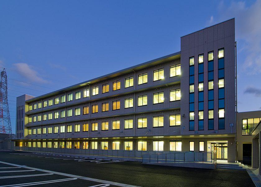 不破の関病院 病棟‐外観1