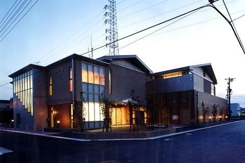 岐南町防災コミュニティセンター‐1